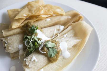 Traditional Mexican Tacos and Tamales