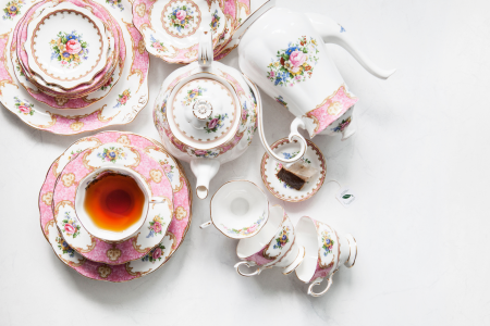 The Crown-Themed Afternoon Tea Party