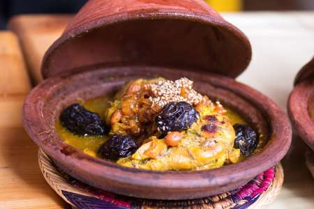 French-Moroccan Fare