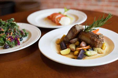 Italian Lamb Chop Dinner