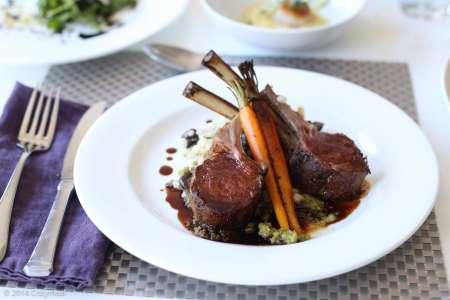 Classic Lamb Chop Dinner