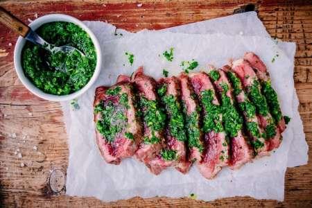 Upscale Steakhouse Fare