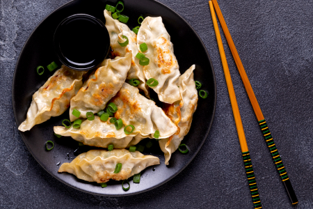 Dumplings and Asian-Inspired Dishes