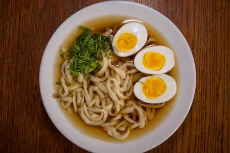 Udon Noodles Two Ways