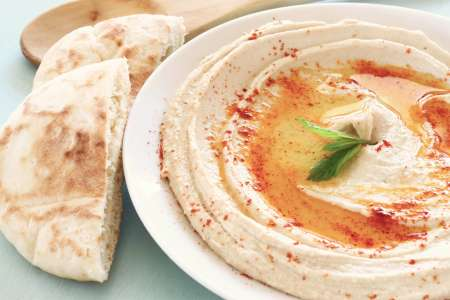 Custom Hummus and Shawarma