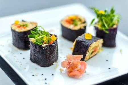 Vegan Sushi and More
