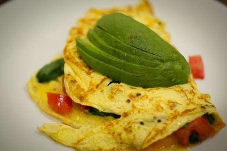 Southwest Omelet and Breakfast Burrito Bar