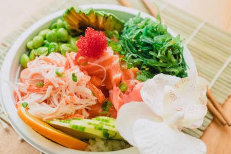 Hawaiian Style Poke and Sushi