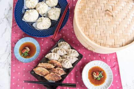 Pot Stickers and Steamed Buns