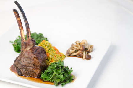 Lamb and cous cous