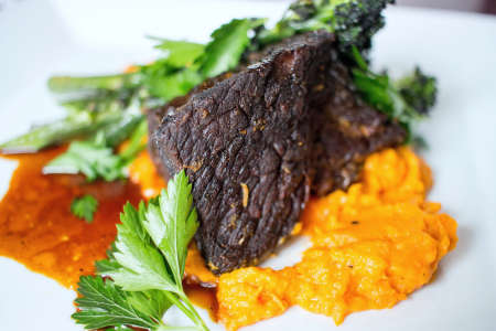 short ribs with sweet potatoes