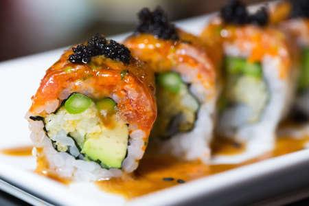 Sushi Rolls and Hand Rolls