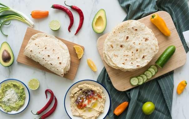 Vegan Tortillas recipe