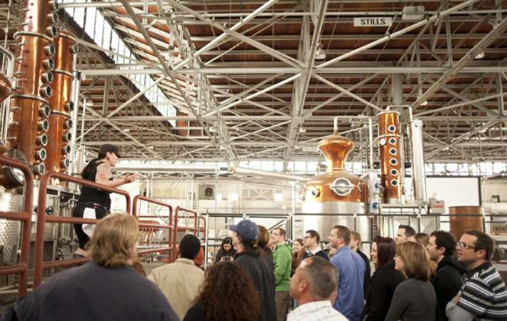 st. george's distillery tour is one of the top california food tours