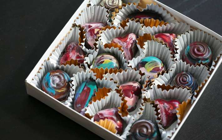 A team building activity that's fun and delicious: chocolate making