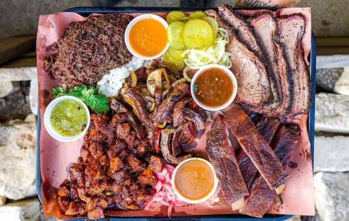 Valentina's Tex Mex BBQ serves some of the best BBQ in Austin