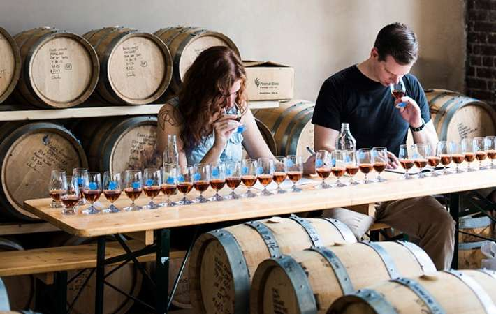 kings county distillery offers one of the best food tours in new york
