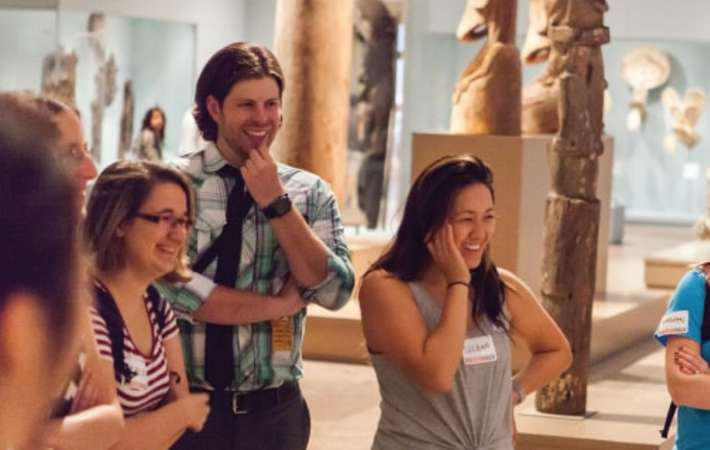 enjoy a museum tour with museum hacks for a fun team building activity in nyc