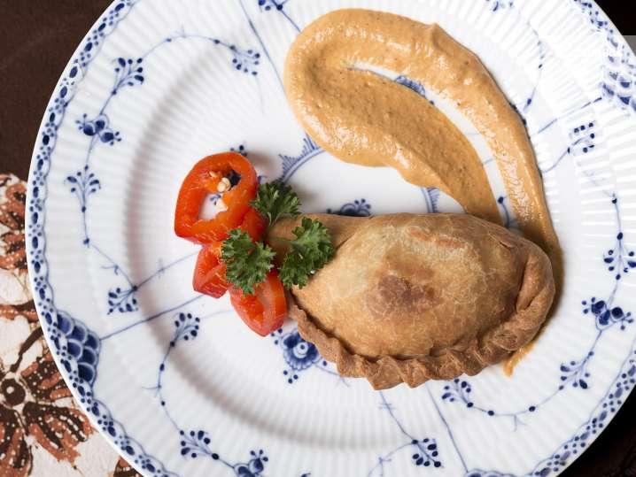 chicken and vegetable empanadas