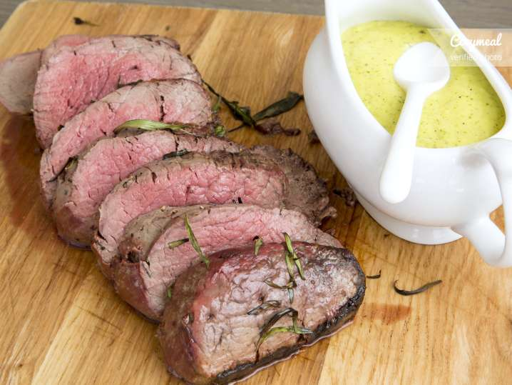 roasted beef filet