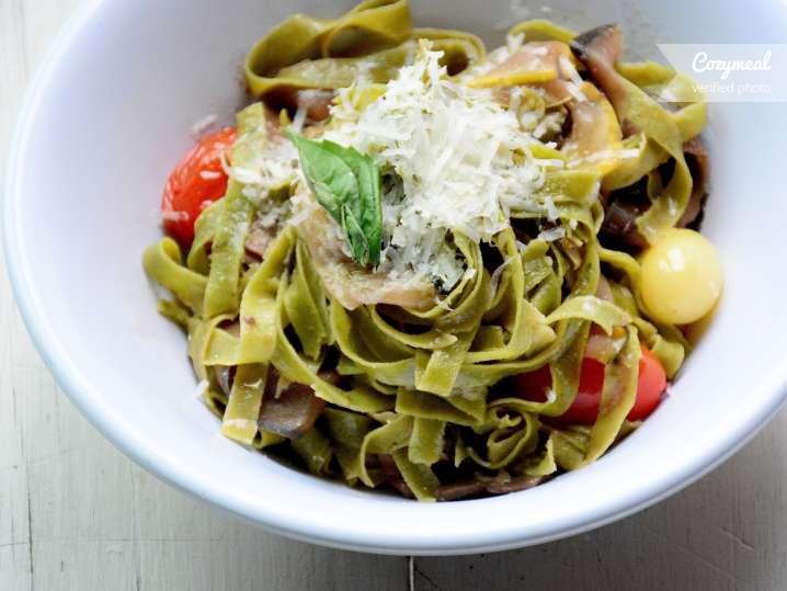 gluten free pasta primavera