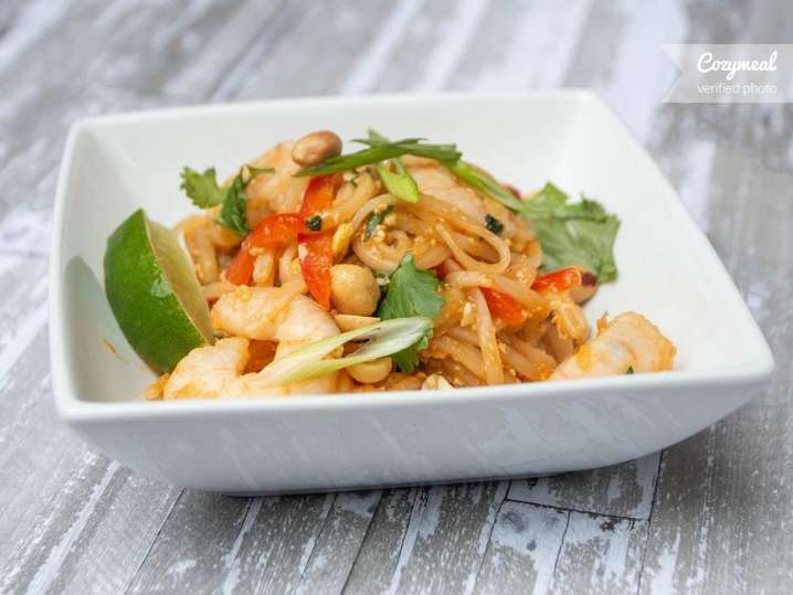 Thai Shrimp and Vegetables