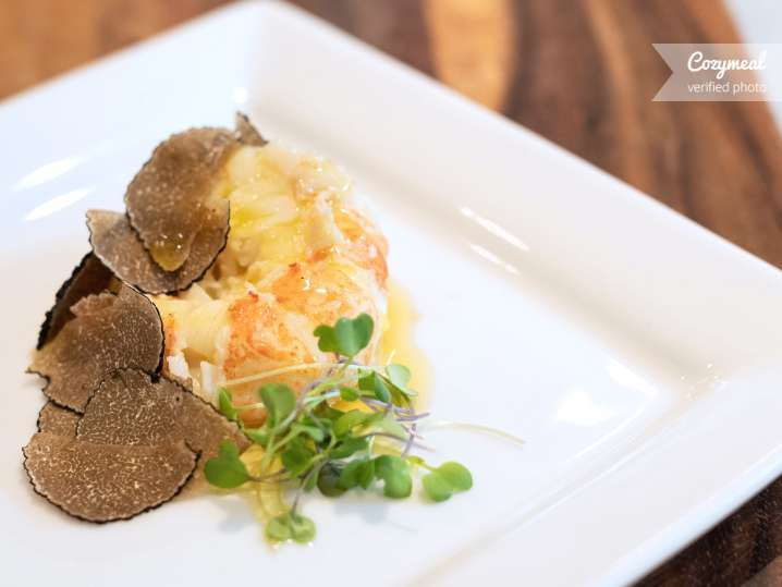butter lobster and truffles
