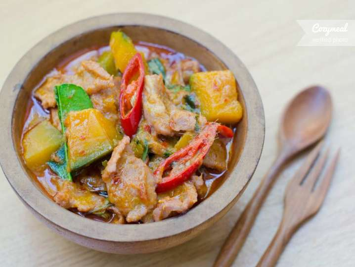 coconut squash curry