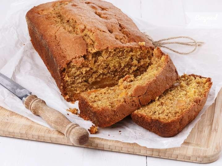 pumpkin olive spiced loaf