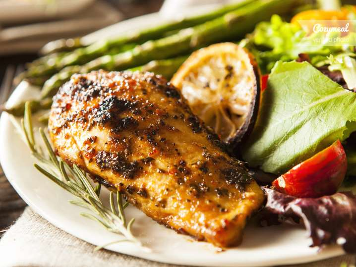 Pan Roasted Chicken Breast with Pan Juices