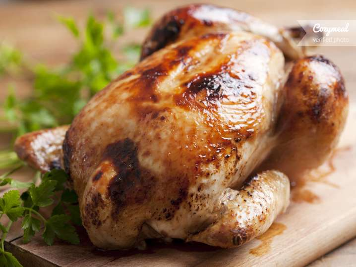 whole cooked chicken