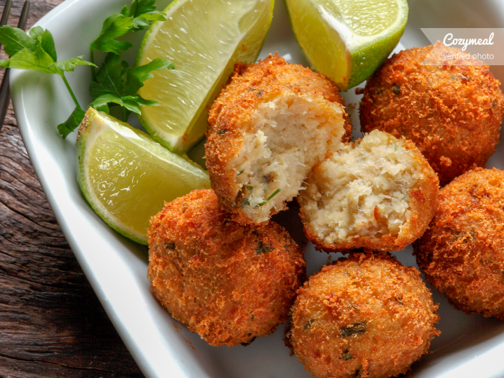 barbados cod fish fritters