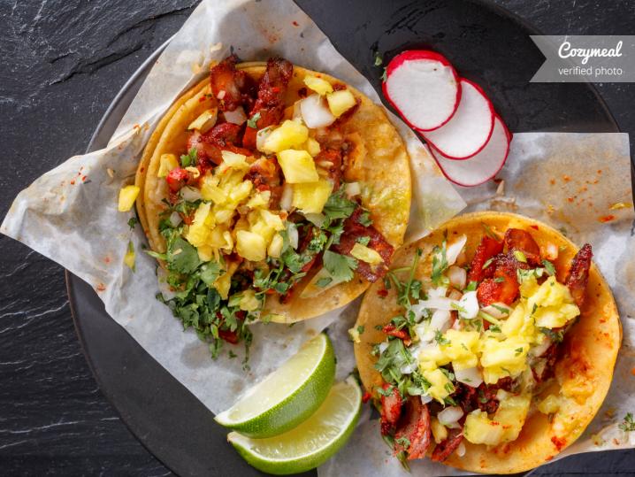 shiitake mushroom tacos with pineapple salsa 5D79108