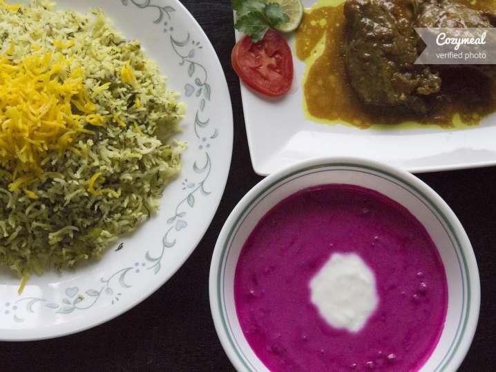 persian lamb dish