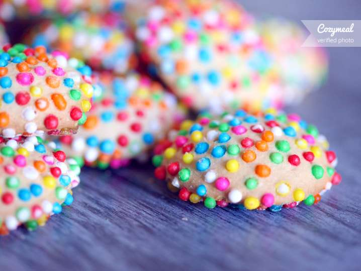 ricotta cookies with sprinkles