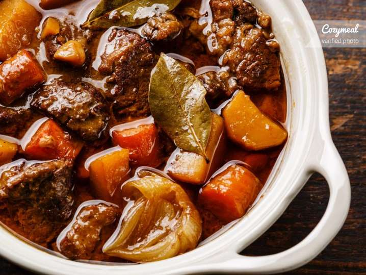 Grass Fed Beef Short Rib and Chuck Stew