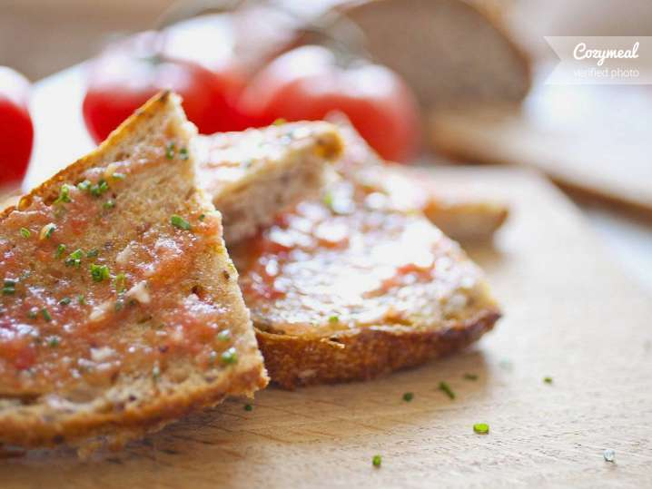 Pan con Tomaté