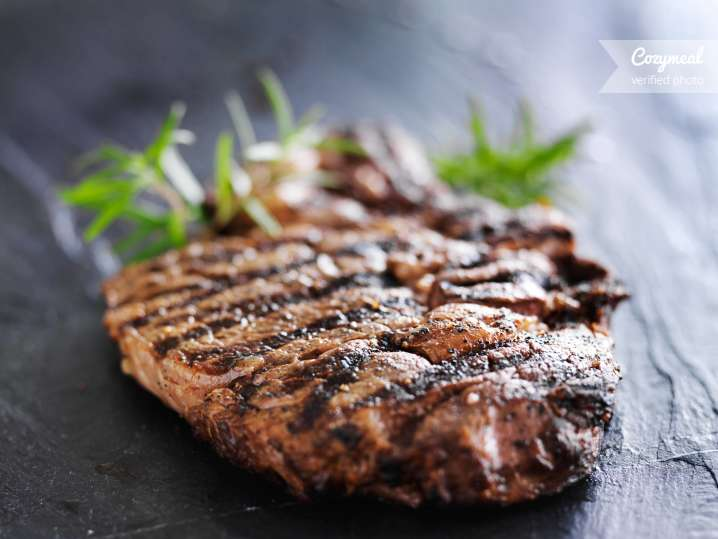 Grllled steak