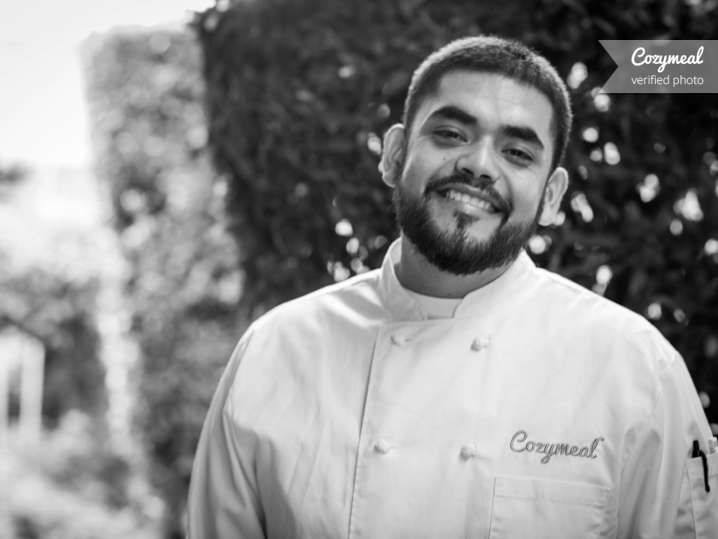 Portrait of Chef Daniel A