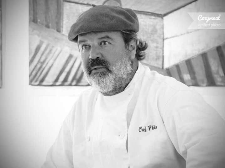 Portrait of Chef Pino