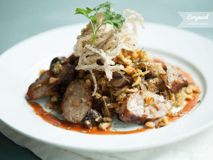 Spaetzle with Mushrooms