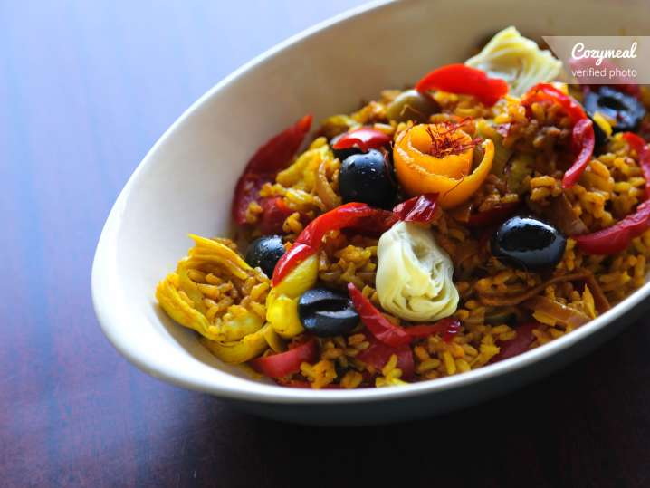 Catering - Vegetable Paella Experience - Traveling Chef ...