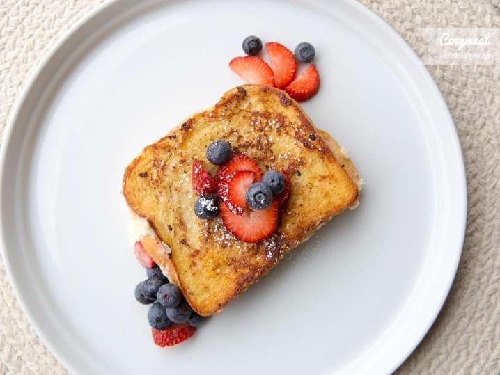 blueberry and lemon french toast