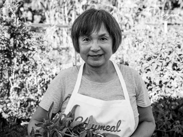 Chef Motoko Portrait