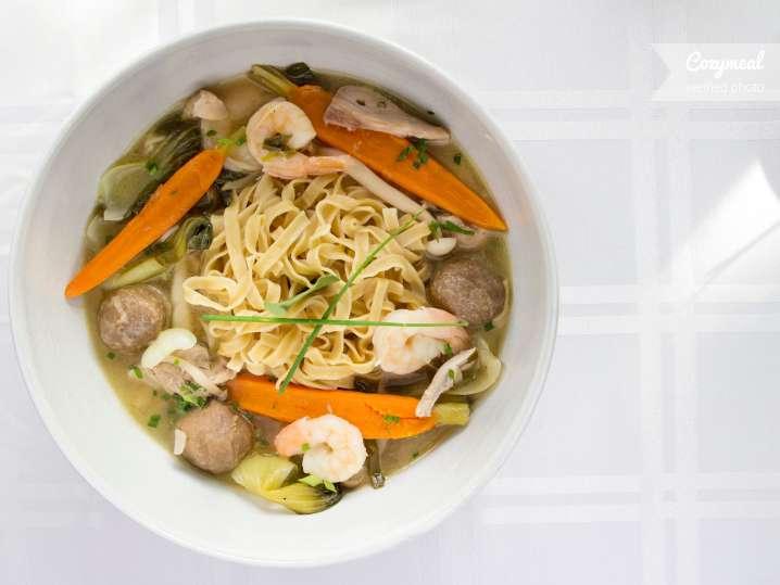 pan asian noodle soup