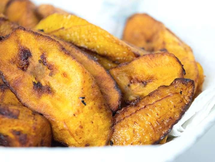 pan fried bananas