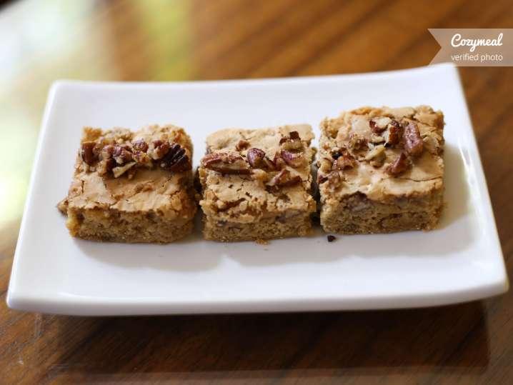 pecan bar brownies