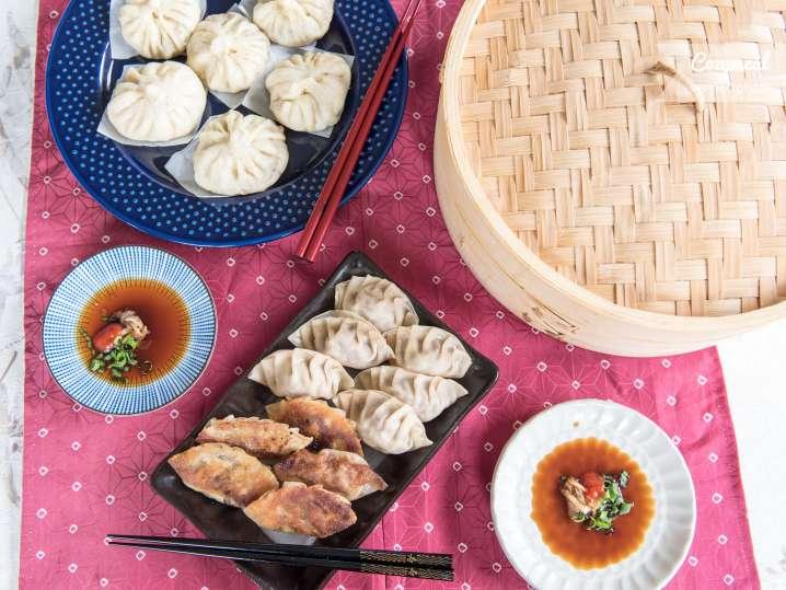 potstickers and dumplings