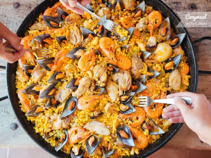 Image result for COOKING CLASS PAELLA