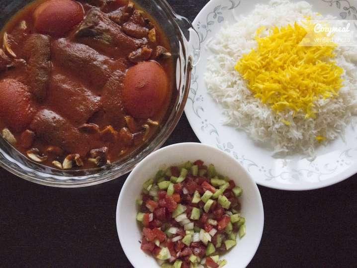 Cooking Class Vegan Persian Cuisine